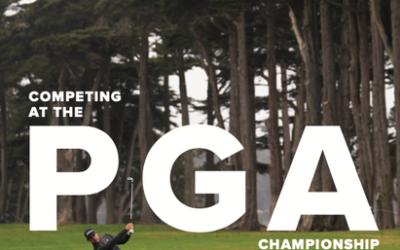 Competing at the PGA Championship